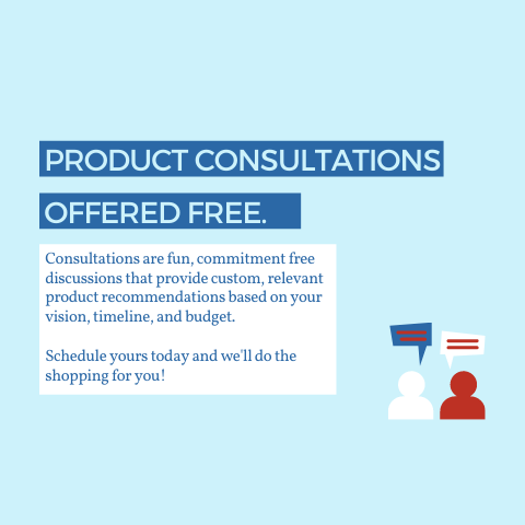 Product Consultations are Free