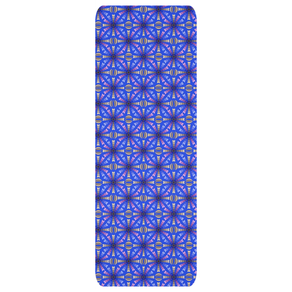 Purple Arrows yoga mat