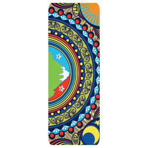Bicycle Day yoga mat