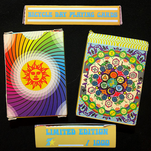 Bicycle Day Deck of Playing Cards - box