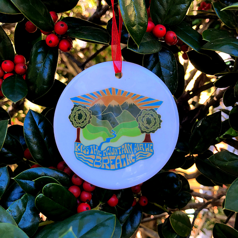 S. Valley ornament