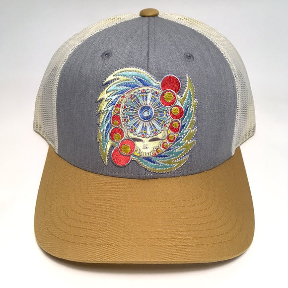 Spin Your Face hat (heather/gold)