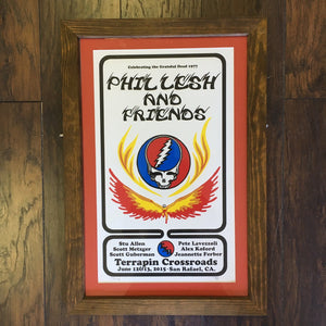 Framed Phil Lesh & Friends Celebrate the Grateful Dead 1977