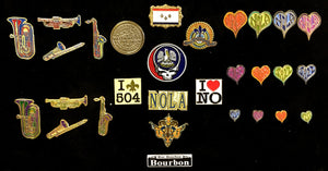 New Orleans Pin Packs