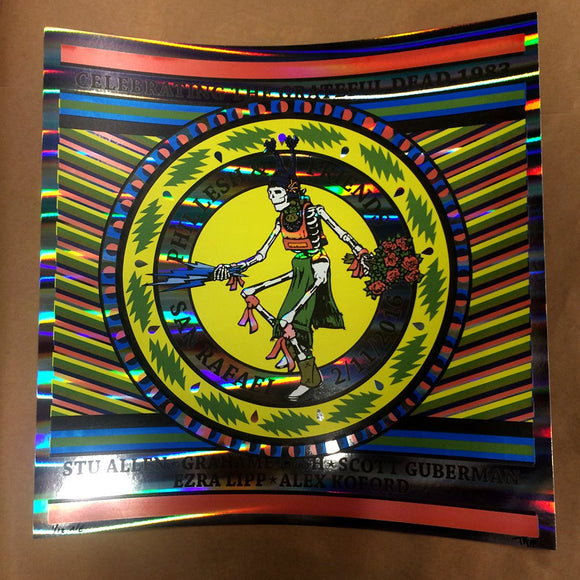 Phil Lesh & Friends - Celebrating Grateful Dead 1983 - Rainbow stripe foil