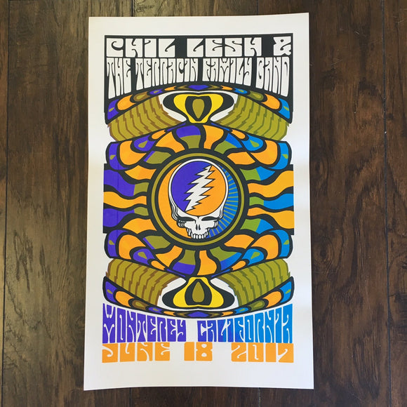 Official Phil Lesh & the Terrapin Family Band - Monterey, California 2017