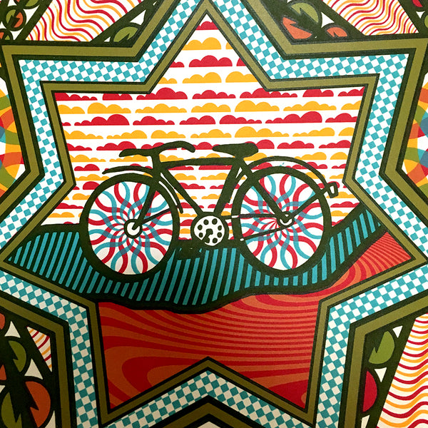 Bicycle Day 2019 Print