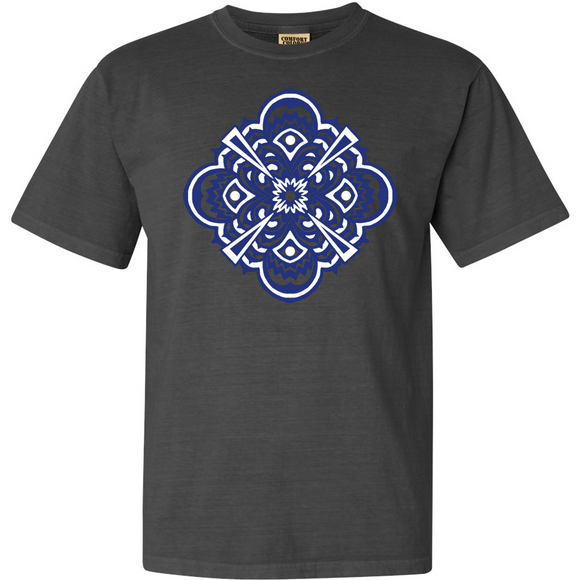 Black Pepper Garment Dyed TRiPP Mandala tee!