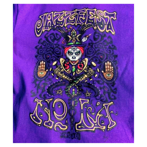 Jeff Wood's NOLA Warrior tee