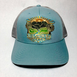 S. Valley hat (smoke blue/silver)