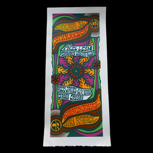 Communion print (Phil Lesh, Graham Lesh, Stu Allen, Ross James, & Alex Koford)