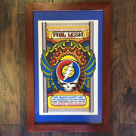 Framed Phil Lesh & Friends Celebrate the Grateful Dead 1989
