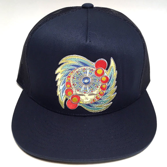 Spin Your Face hat (navy)