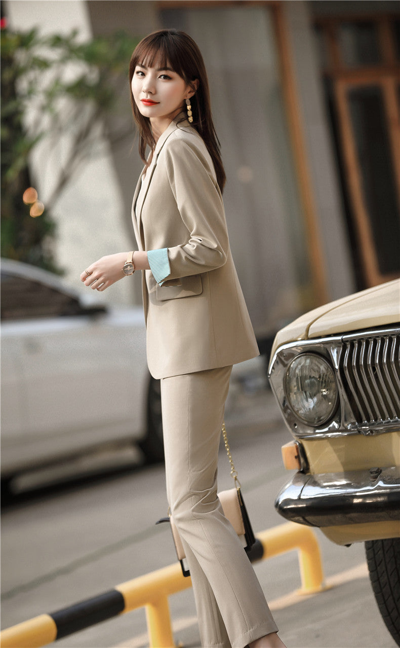 Posh Office Blazer & Pants Set