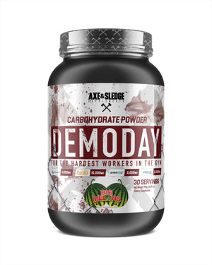 DEMO DAY // Carbohydrate Powder