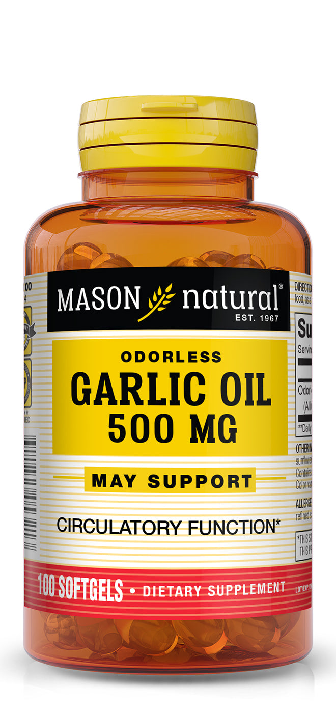 Mason Natural Garlic Oil