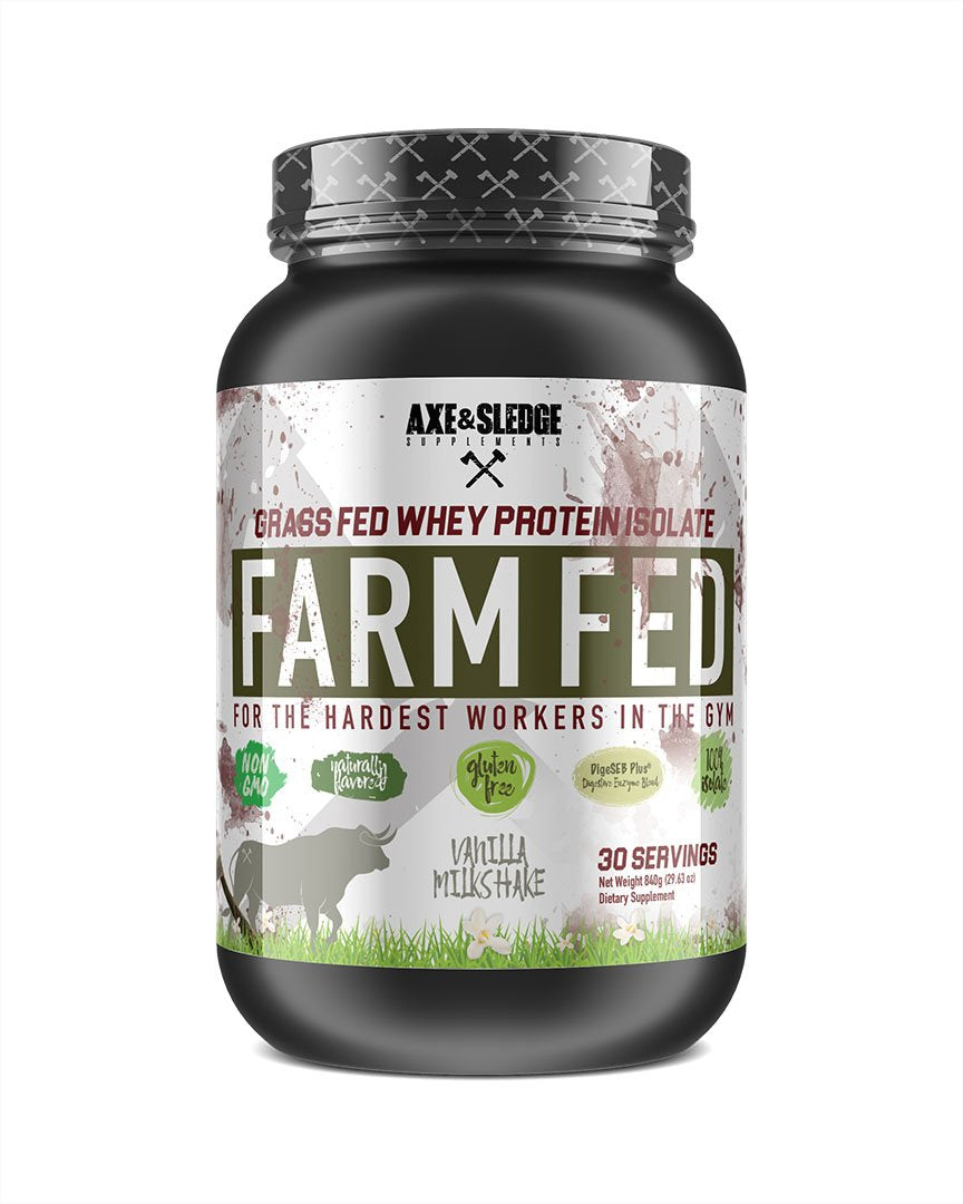 FARMFED PROTEIN // Grass-Fed Whey Protein Isolate