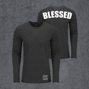 Bestillco Blessed Long Sleeve Shirt