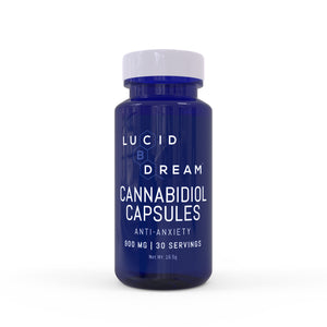 Lucid Dream CBD Anti-Anxiety Cannabinol Capsules