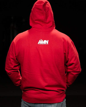 American Made Nutrition Apparel Evolution Hoodie // Red