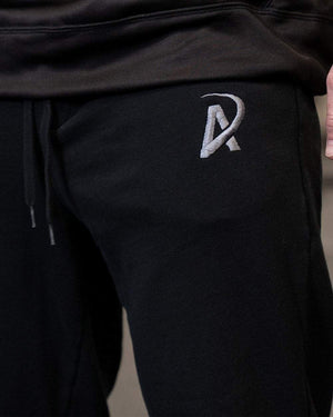 Fleece Joggers // Black