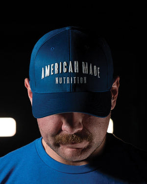 American Made Nutrition Apparel Flexfit Hat