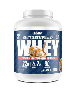 American Made Nutrition Protein Caramel Latte / 5lb Performance Whey