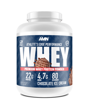 American Made Nutrition Protein Chocolate Ice Cream / 5lb Performance Whey