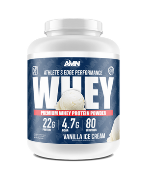 American Made Nutrition Protein Vanilla Ice Cream / 5lb Performance Whey