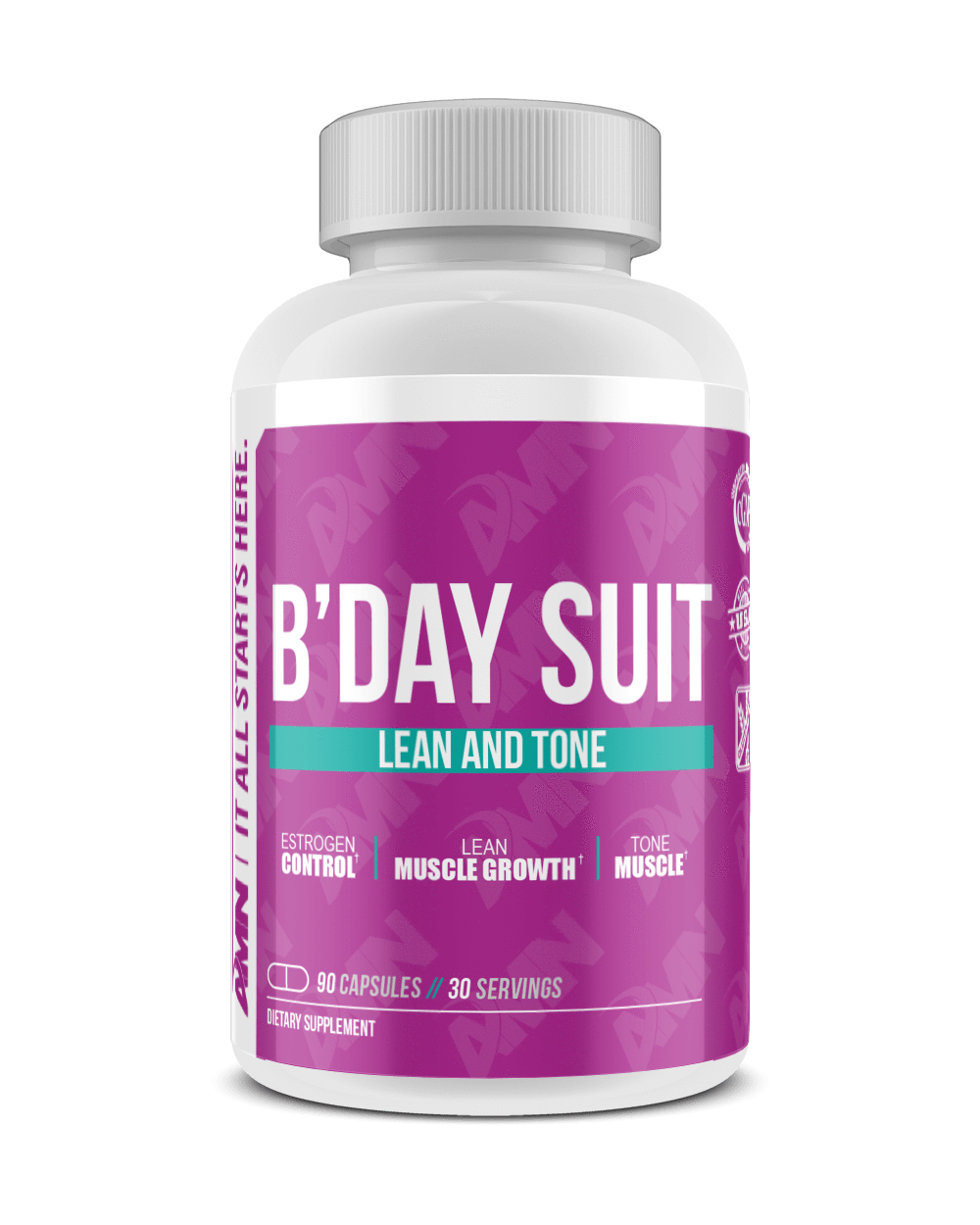 American Made Nutrition Supplements Default Birthday Suit