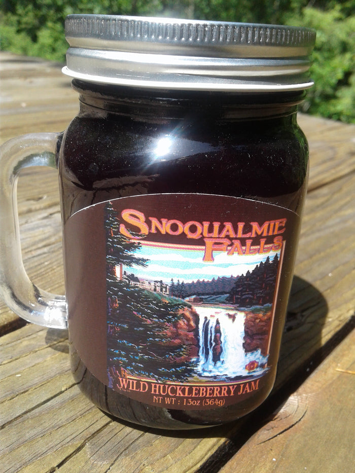 Wild Huckleberry Jam 13oz