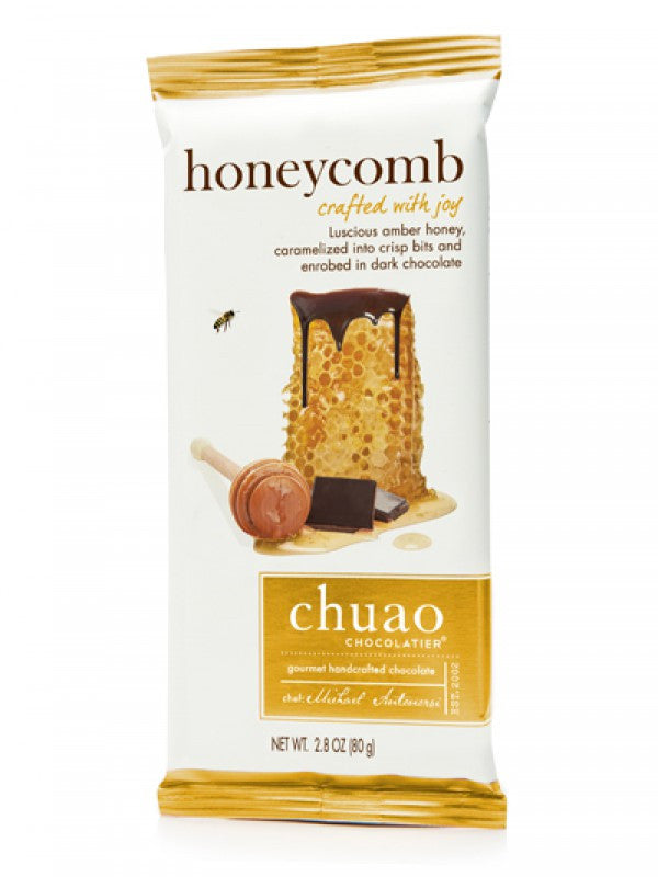 Dark Chocolate Honeycomb Bar