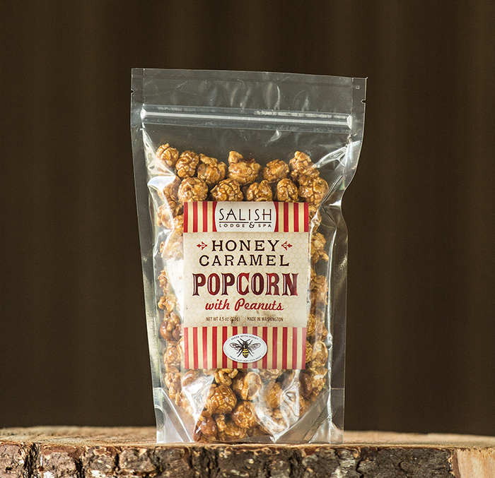 Salish Honey Caramel Popcorn