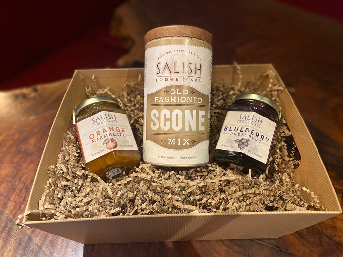 GIFT SET- SCONES WITH JAM