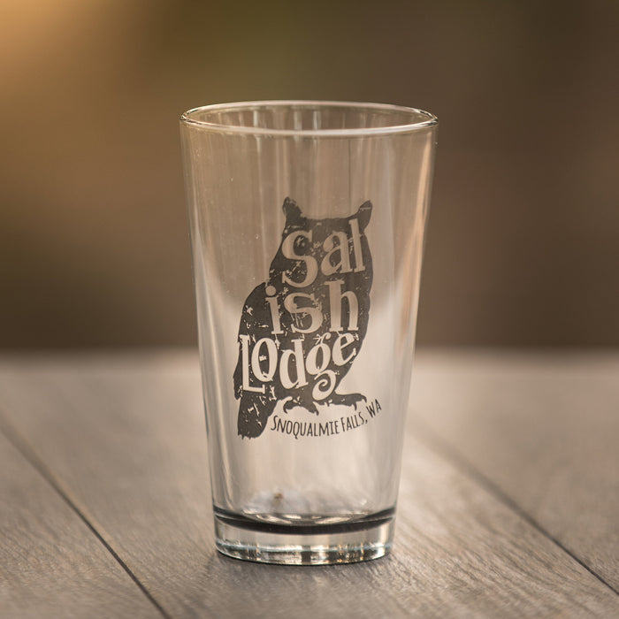 Salish Owl Glass Collection