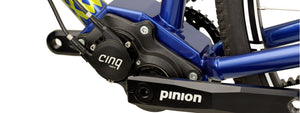 CINQ shifter upgrade interfaces with the Pinion C.12 gearbox