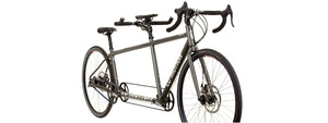 Speedster Rohloff in Pewter Grey - Bright Silver Team Logos