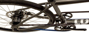 Speedster Rohloff with dual Gates Carbon Drive belts