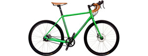 Siskiyou with Rohloff 14-spd hub in Tropical Green Metallic