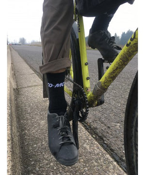 "Co-Motion/ DeFeet Woolie Boolie 6"" Socks"
