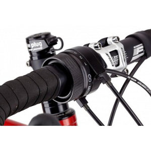 Shown on FSA Gossamer compact handlebar