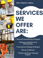 Drywall | Drywall Contractors | Corwin Drywall Contracting LLC | Water Damage Repair | Drywall Contractor in Chicago suburbs | Drywall Contractors in Chicago | Acoustical ceilings contractor | Subcontractor | Remodeling , Renovation, Addition Contractor