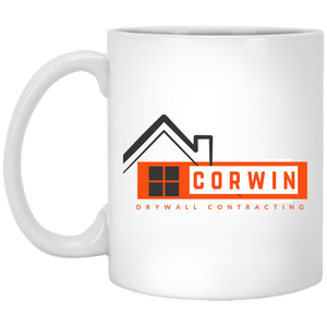 Corwin Drywall Contracting Logo Mug