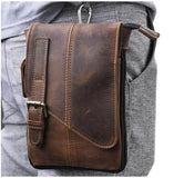 Genuine Leather Messenger Bag - BrapWrap