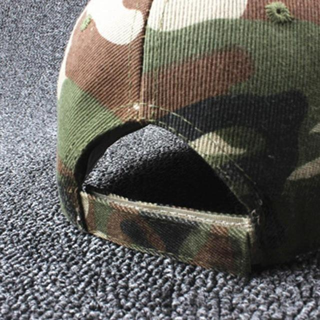 2020 Military Camouflage Cap - BrapWrap