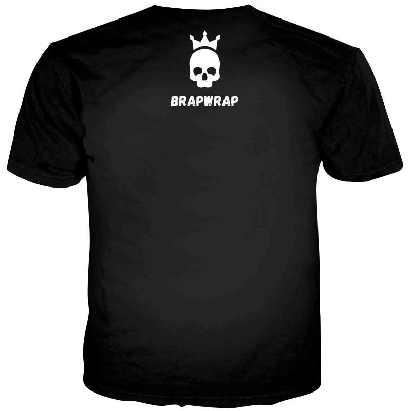 BrapWrap Brand Name T Shirt