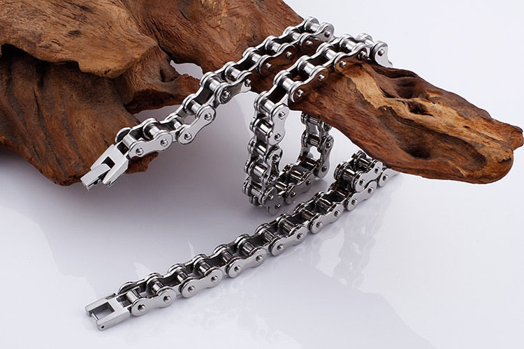 Stainless Steel Long Chain Necklaces