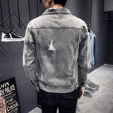 Washed Cotton Denim Jacket