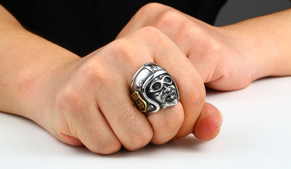 Route 66 Club Biker Ring
