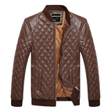 Winter Casual Comfortable PU Leather Jacket